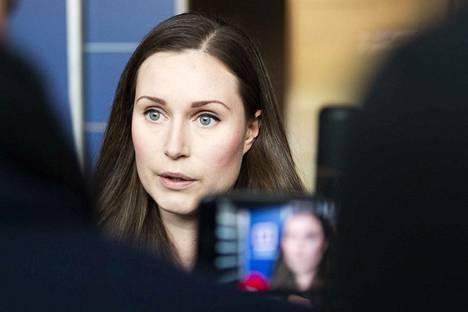 Sanna Marin, 34, on toisen kauden kansanedustaja.