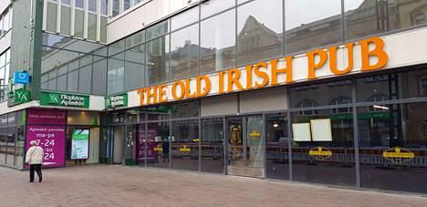 The Old Irish Pub Tampere  sijaitsee osoitteessa Hämeenkatu 16. Aikaisemmin siinä toimi vaateliike Halonen.