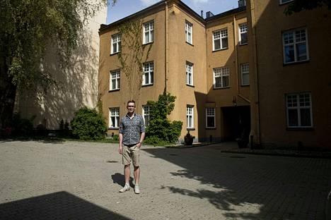 Tampereella oleva Daniel Schmidtin vuokrakämppä oli ainakin kesäkuussa paljon tyhjillään.