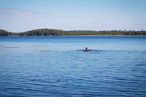 Ennen oli paremmin – Las Paluksen uimarannallakin, kirjoittaja arvioi.