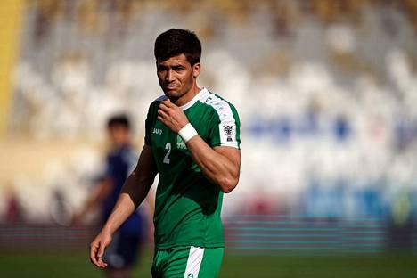 Turkmenistanin maajoukkuepelaaja Zafar Babajanow edustaa seuratasolla maan pääsarjan Altyn Asyria.