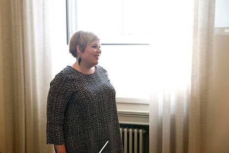Annika Saarikon perheeseen syntyi poikavauva. Synnytys oli Saarikon mukaan pitkä ja rankka.