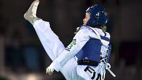 Suvi Mikkonen jäi olympiakarsintaturnauksessa pronssiotteluun.