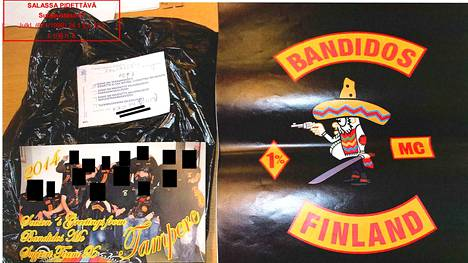 Kotietsinnässä poliisi takavarikoi seinäkalenterin, josta paljastuu kuva jokaisesta Suomen Bandidos-osastosta.