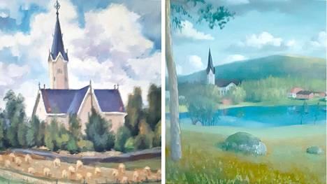 Saattaa olla, että Multian kirkon maalaamisesta tauluksi käytiin kipakampia keskusteluja kuin kirkon ulkoseinien maalaamisesta nyt.