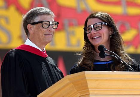 Bill ja Melinda Gates kuvattiin kesäkuussa 2014.