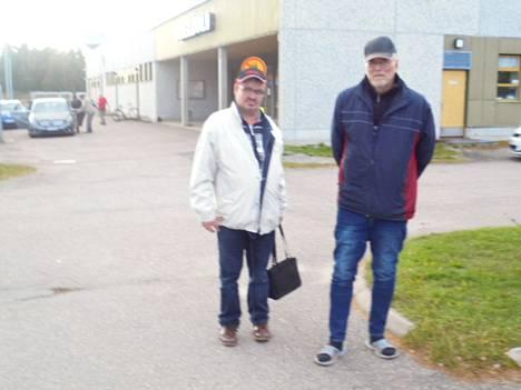 Jouni Nordlund ja Kauko Ojala ylsivät Ystävä Boccian finaaliin.