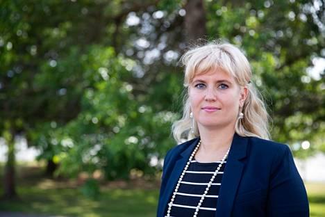 Pälkäneen kunnanjohtajaksi nimitetty Pauliina Pikka on työskennellyt Nokian sivistysjohtajana viisi vuotta. Arkistokuva on kesältä 2019.