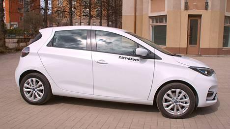 Renault ZOE on täyssähköinen henkilöauto, joten siihen voi saada 2000 euron arvoisen hankintaedun.