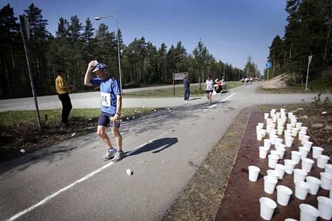 Myös Yyterin maraton on perinteinen juoksutapahtuma. Tämä kuva otettiin toukokuussa 2010.