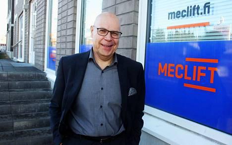 Mecaliftin toimitusjohtaja Janne Kalliomäki on aiemmin työskennellyt muun muassa sijoituspalveluyhtiö Elite Varainhoito oyj:n yritykset ja yrittäjät -liiketoiminnan johtajana.