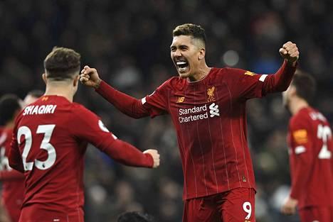 Liverpoolin Roberto Firmino on ollut kovassa vireessä taas viime aikoina.