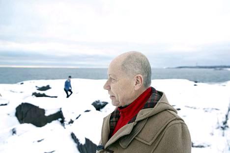 Kun Jyrki Kangas päätti jotain täydestä sydämestään, se piti. Hän oli Itämeren puolustaja viimeiseen saakka. Kuva on otettu Kallosta tammikuussa.
