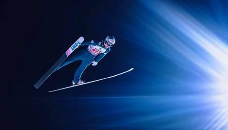 Antti Aalto oli ilahtunut hypystään Innsbruckin karsinnan jälkeen.