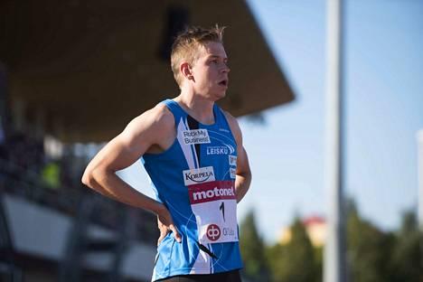 Ville Myllymäki on löytänyt rikkonaisten vuosien jälkeen vahvan juoksukunnon.