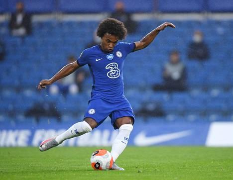 Willian on ollut Chelsealle viime aikoina todella tehokas. Hän on tehnyt koronatauon jälkeen kuudessa pelissä neljä maalia (kolme rangaistuspotkusta) ja syöttänyt kolme osumaa.