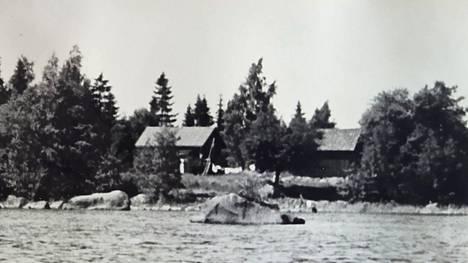 Lähikuva Palmukarin saaresta.