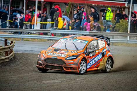Henri Haapamäen ensimmäinen kisa  Supercar-luokassa onnistui hyvin.