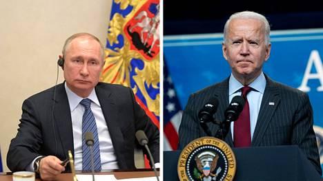 Venäjän presidentti Vladimir Putin vastasi Yhdysvaltojen presidentti Joe Bidenin kommentteihin.