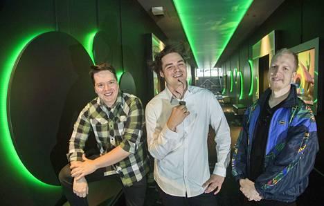 Janne Pikka, Karim Saheb ja Miika Tuohimaa tekivät kokoillan toimintakomedian Pitkä perjantai.