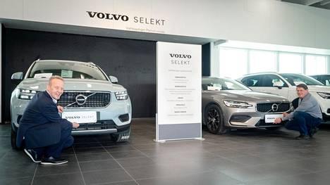 Käyttöauto avasi kesäksi Selekt-vaihtoautojen laajalle valikoimalle kokonaan oman ja uuden myymälän. Volvo Selekt -vaihtoautoille ostaja saa poikkeuksellisen hyvän takuun.