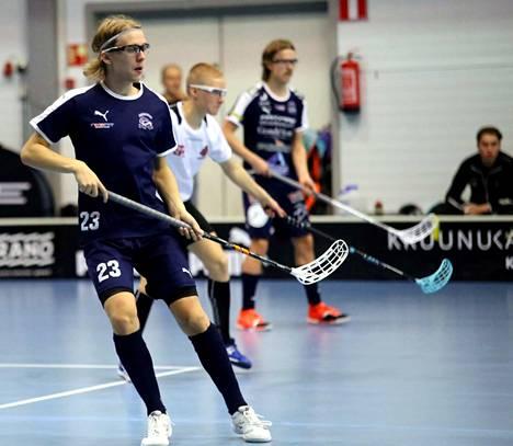 Roope Wikström oli KrP:n pistepörssin ykkönen päättyneellä A-poikien SM-runkosarjan pelikaudella. Hän teki 15 maalia ja antoi 5 maalisyöttöä.