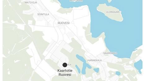 Ampumavälikohtaus tapahtui Ruovedellä rivitalon pihalla keskiviikkona aamuyöllä.