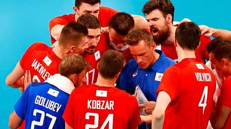 Tuomas Sammelvuon valmentama Venäjän olympiakomitean joukkue eteni Tokion olympialaisten finaaliin.