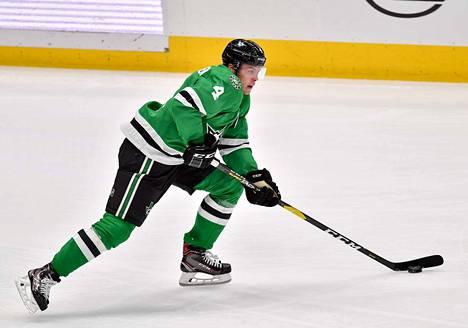 20-vuotias suomalaispuolustaja Miro Heiskanen on noussut Dallasin parhaimmistoon ja kovaksi tekijäksi koko NHL:ssä.