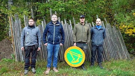 MTK Harjavallan johtokunta uudistui viime vuosikokouksessa. Kuvassa ovat sen rahastonhoitaja Matias Kangas, puheenjohtaja Aleksi Simula, nuorisovastaava Elias Inkinen ja sihteeri Erkki Setälä.