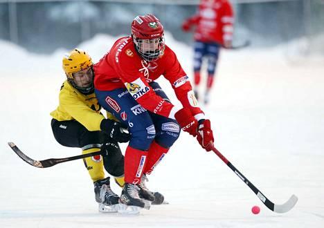 Eero Paavola sai yhden syöttöpisteen lauantain ottelussa.