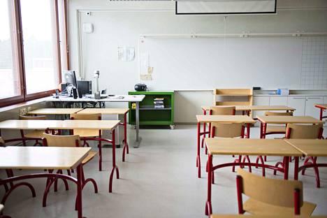 Pitkäjärven koulu suljetaan viikoksi. Kuvituskuva.