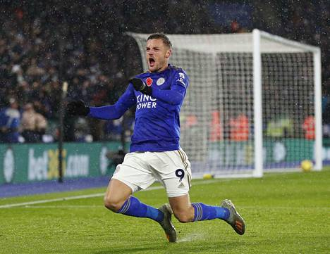 Tuulettaako Jamie Vardy Manchester Cityn kustannuksella?