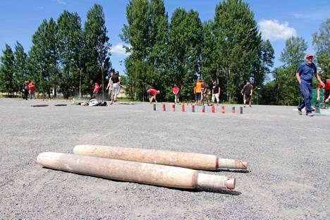 Harjavallassa järjestettiin heinäkuussa isot kyykkäkisat.