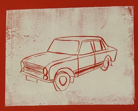 Kuvituksen  on tehnyt Lenni Kivijärvi, 12 vuotta, Pirkan opiston Lasten ja nuorten kuvataidekoulusta.