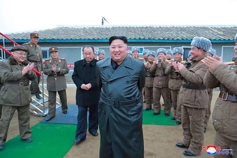 """Pohjois-Korean johtaja Kim Jong-un on varoittanut, että Pohjois-Korea astuu ensi vuonna """"uudelle polulle"""". Arkistokuva."""