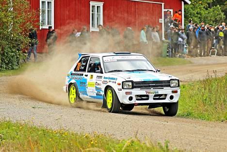 Yksi piste lisää Laitilasta olisi riittänyt varmistamaan Juuso Jorvalalle F-Cupin juniorimestaruuden.