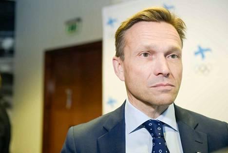 Timo Ritakallio on Suomen olympiakomitean puheenjohtaja.