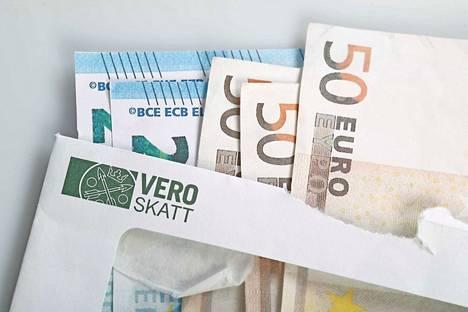 Veronpalautuksia kilahtaa tänään 1,3 miljoonan suomalaisen tilille.