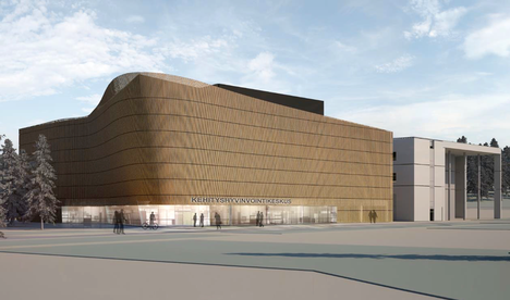 Kaupin kehityshyvinvointikeskusta on suunniteltu Tampereen yliopistollisen sairaalan naapuriin, Tampereen yliopiston opetuksen käytössä olevan Arvo-rakennuksen viereen