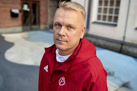 –Toisen jakson ongelmamme olivat hyökkäämisessä, Pyrinnön päävalmentaja Sami Toiviainen kommentoi Kataja-peliä.