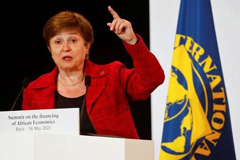 IMF:n pääjohtaja Kristalina Georgieva voi jatkaa tehtävässään.