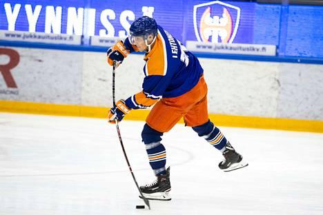 Tapparan Matias Lehtoselta jää väliin ainakin lauantain SaiPa-ottelu.