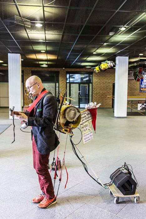 Jouko Mäki-Lohiluoman tämän vuoden uutuus on perävaunu.