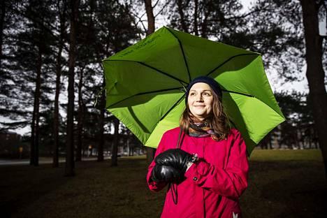 Tamperelainen väitöskirjatutkija Tytti Pasanen pitää Kalevan kaupunginosaa Tampereella hyvänä esimerkkinä alueesta, jolla pääsee helposti piipahtamaan luonnossa.