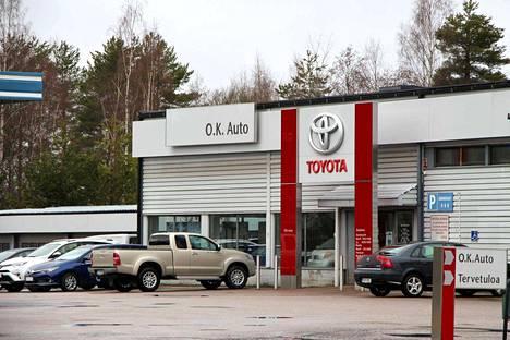 O.K. Auton toimipiste Keuruulla loppuu toukokuun lopussa.