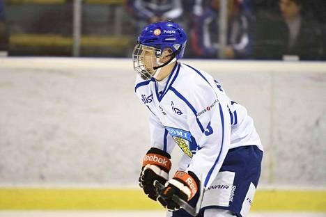 Markus Niemeläinen on kookas 193-senttinen pakki Suomen joukkueessa.