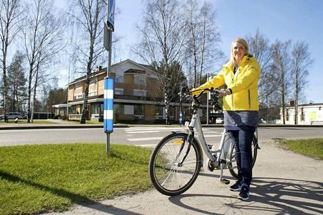 Lammaisten Energia lainaa sähköavusteisia polkupyöriä, mutta ensi tiistain tempaukseen tulee osallistua omalla pyörällä, kertoo asiakaspalveluvastaava Sini Mäkipere.