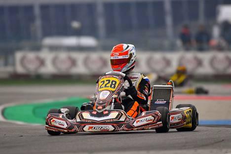 Nokialaiskuljettaja Nikolas Pirttilahti aloitti karting-kautensa WSK Champions Cupista Italian Adriasta.
