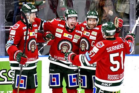 Frölunda Indians pelaa Ruotsin korkeimmalla sarjatasolla eli SHL:ssä.
